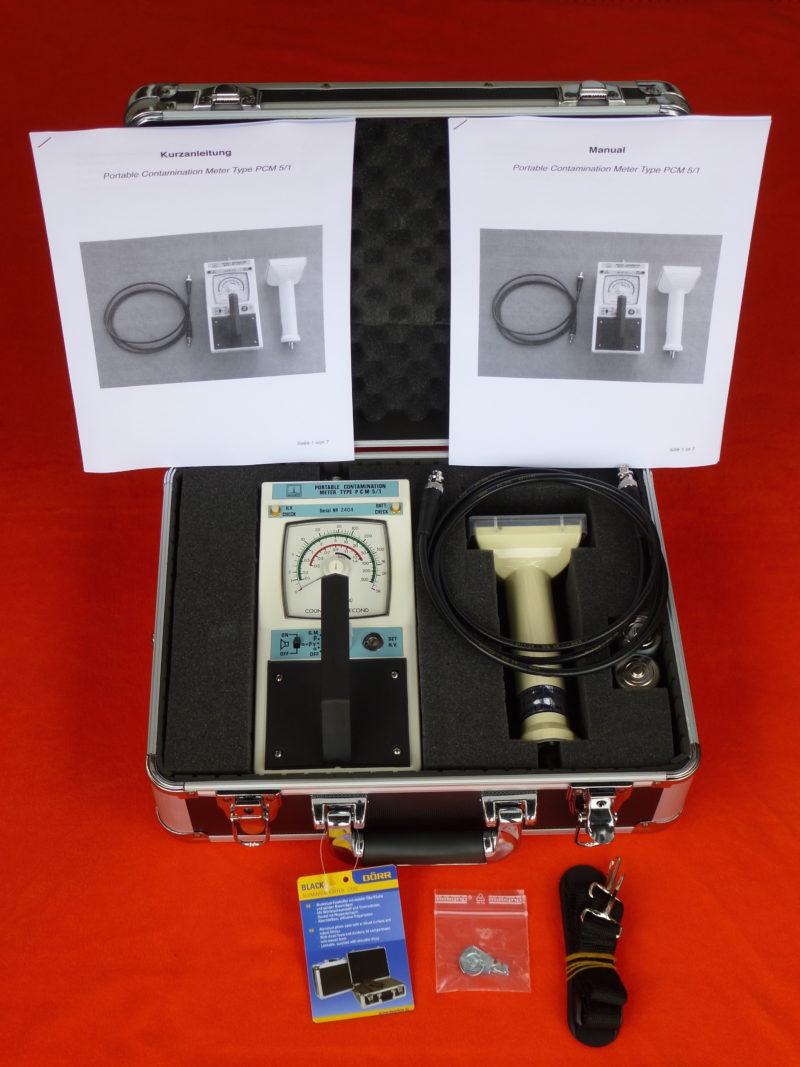 Szintillationsdetektor - Geigerzähler PCM 5/1